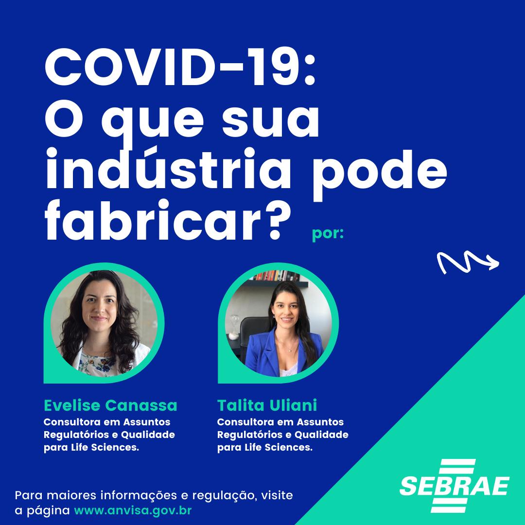 COVID-19 O que sua indústria pode fabricar?