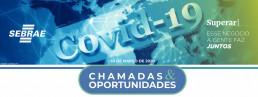 Chamadas e oportunidades - Sebrae