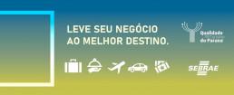 Negócio em turismo - Sebrae