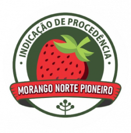Logo Morango Norte Pioneiro